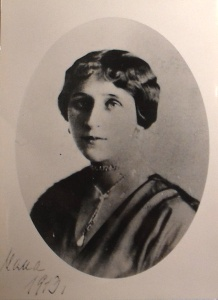 Olga in her younger days