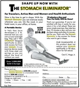 The Ad That Launched 770,000 Stomach Eliminators