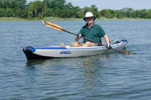 Me in 2015 on a Kayak I Designed