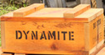 DYNAMITE - Handle As Though - That did the trick!