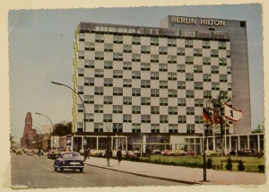 In its heyday, this was the snazziest, the newest hotel and the tallest hotel in Berlin.