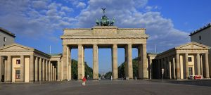 This was the Brandenburg Tor