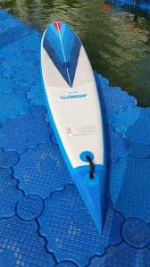 This is our new NeedleNose 126r racing board. It was good to go.
