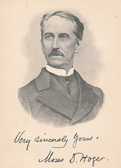 Moses Drury Hoge, one in a long line of family preachers