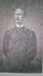 A grainy picture of Moses Drury Hoge in later life